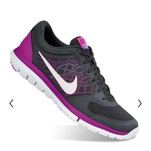 Nike Flex Run Women's Running Shoes grey